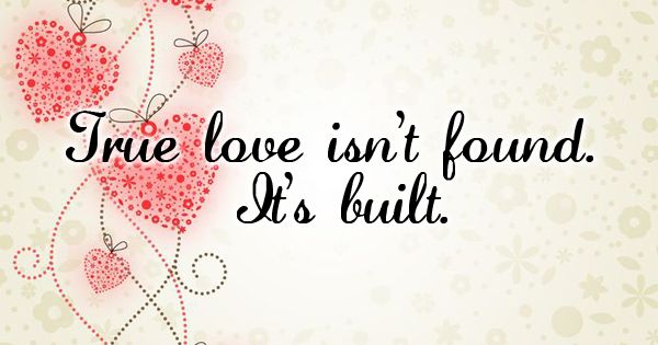 building true love