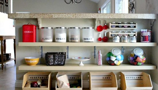 Kitchen Storage Ideas, another breakfast bar conversion, from http://www.tonyastaab.com/2012/09/kitchen-storage-ideas.html.