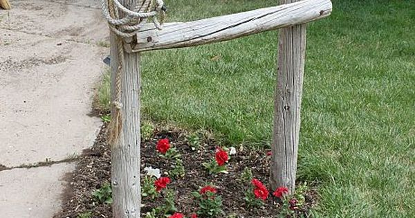 Front Yard Western Decor ~ Hitching Post by 2 Crafty 4 My