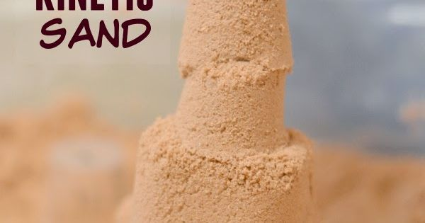 Diy Squishy Sand : Homemade kinetic sand- Squishy, mold-able, & lots of fun! Why waste your money on the store ...