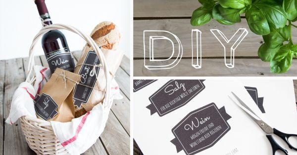 geschenkideen zum einzug freebie gift. Black Bedroom Furniture Sets. Home Design Ideas