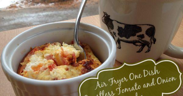 Air Fryer Recipes Easy Crustless Quiche Breakfast