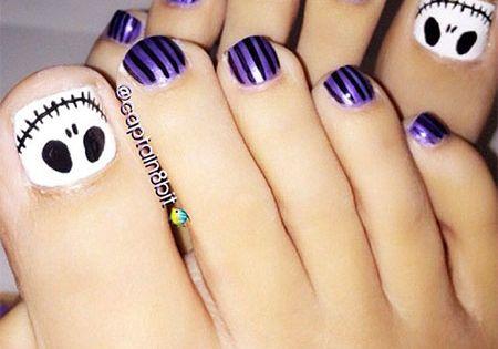 Cool & Pretty Toe Nail Art Designs & Ideas For Beginners ...