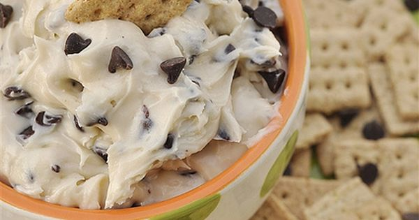 ..cookie dough dip - 1/2 c butter.. 1/3 c brown sugar.. 1