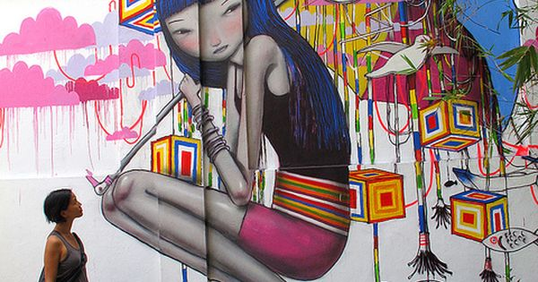Streetartist Seth: Murals around the World with local city Dwellers » Design