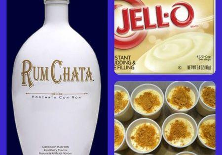Cheesecake Pudding Shots Recipe 1 pkg instant cheesecake pudding mix 3/4 c