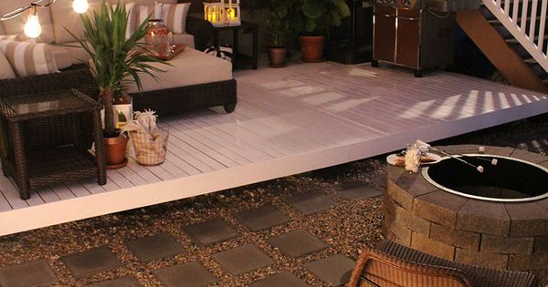 How to build a simple diy deck on a budget patio for How to build a deck on a budget