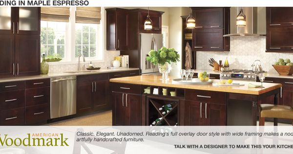 Dark Cherry Cabinets Kitchen Reno Ideas Pinterest Espresso Reading And Home Depot