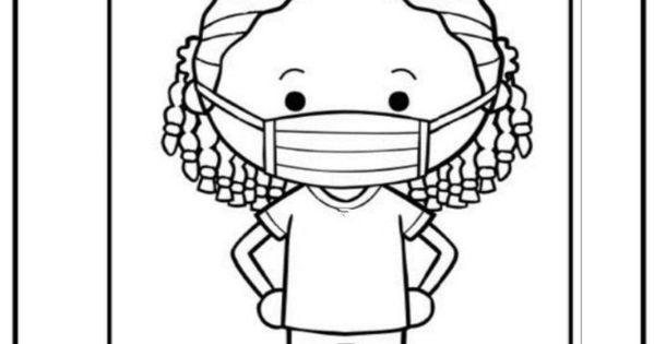 Maskeli Takiyorum Boyama Sayfasi 2020 Boyama Sayfalari Alfabe Calisma Sayfalari Boyama Kitaplari