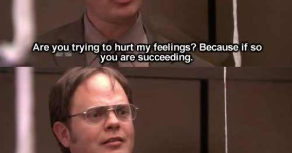 Dwight's feelings regenerate - The Office quotes by Dwight ...