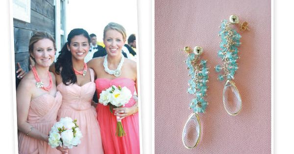major statement necklaces and all around gorgeous baubles for your bridesmaids and