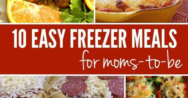 Freezers easy freezer meals and meals on pinterest