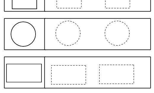 Tracing Geometric Shapes Worksheet