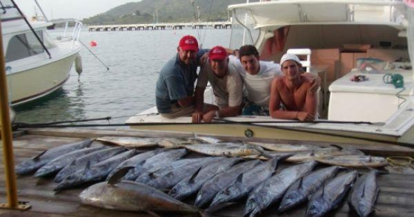 Catch of the day st maarten deep sea fishing for St maarten fishing