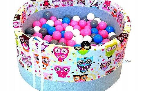 Suchy Basen Z Pilkami Kulkami Pileczkami 250 Szt Ball Pit Pool Ball Baby Ball