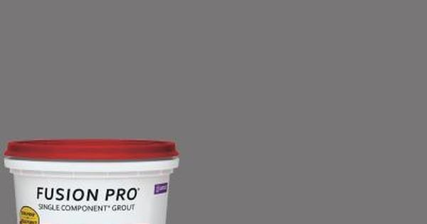 Custom Building Products Fusion Pro 19 Pewter 1 Qt Single Component Grout Fp19qt 4 Grout Fusion Pro Grout Home Depot