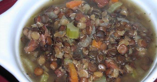 ... Lentil Soup | Recipe | Ham And Lentil Soup, Lentil Soup and Lentils