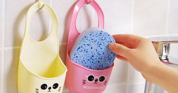 3 TEILE/SATZ toilettenseife regalteiler waschen tuch Schwamm ...