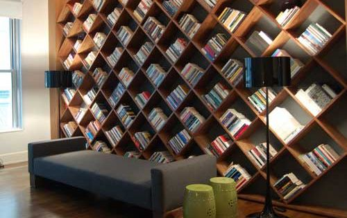 best design bookcase to beautify interior house design : Living Room Innovative