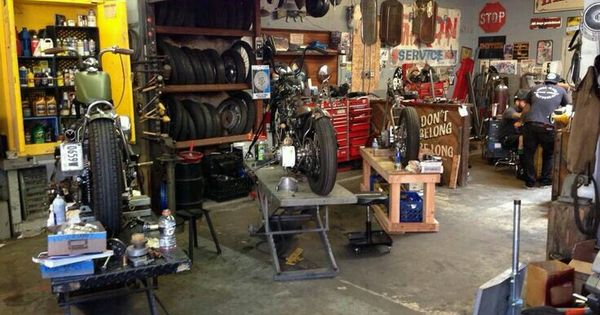 Motorcycle garage we find better parking and storage for Limited space storage solutions