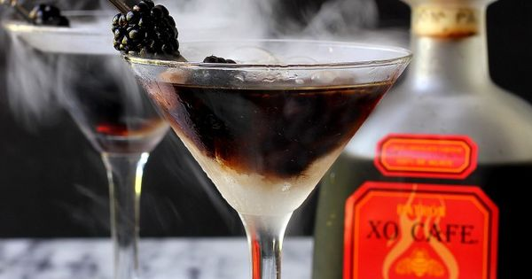 SPOOKY CHOCOLATE CHILI COCKTAIL RECIPE | Cocktails, Chili and ...