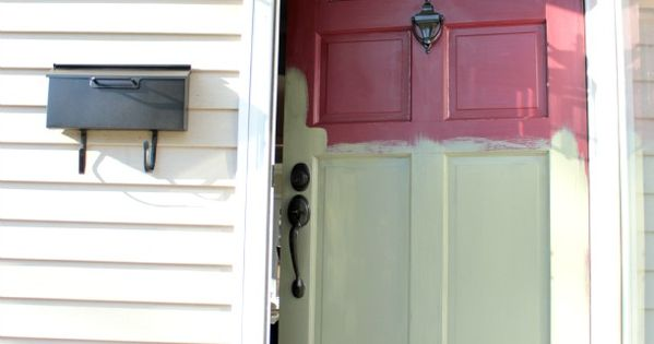 Paint the front door green front doors doors and tips Home selling four diy tricks to maximize the curb appeal