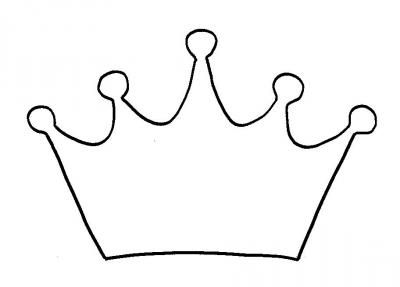 Ausmalbild Krone … | Ausmalbild, Krone basteln, Ausmalbilder