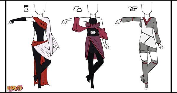 Sand Earth Water Ninja Outfits Ninja Outfit Anime Costumes Anime Outfits