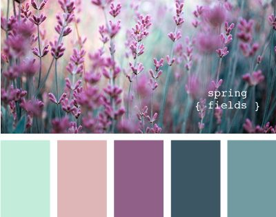 Baby girl room color palette?