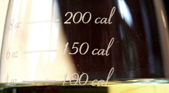 Ha ha! wine calories glass. Gift idea