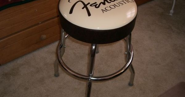 Fender Guitar Table Bar Stool For Playing Guitar Sitting