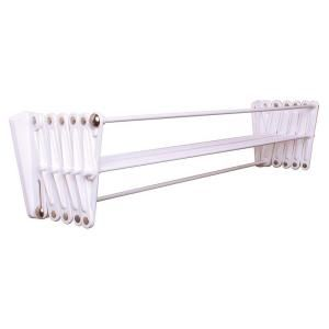 Greenway Stainless Steel Indoor Wall Mount Drying Rack Silver In