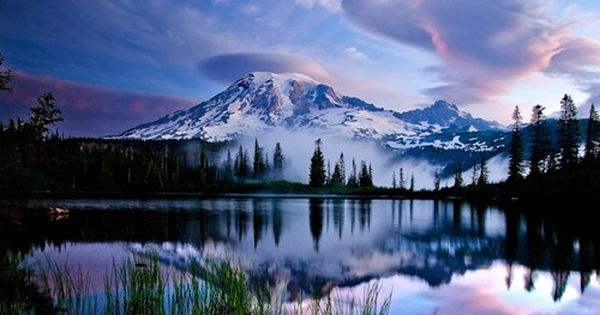 Mt. Rainier National Park, Washington State. AAhhhh I've been sledding on this