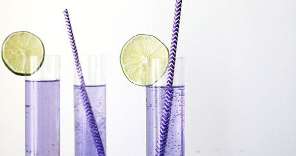 Spritzer drink, Blueberries and Lavender on Pinterest