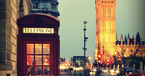 London, England - one of my favorite places in the world!