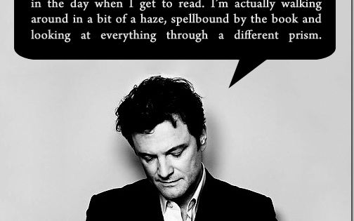 Could this man be more perfect? colinfirth