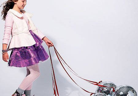 Bracelet Little Girls Skirts Slips and Accessories: Ponytail Holder Headband Sizes 3 4 5 6 7 8 Simplicity Pattern 2356 UNCUT