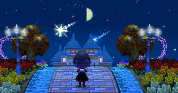 Janettocrossing I Updated My Dream Town During The Meteor Shower