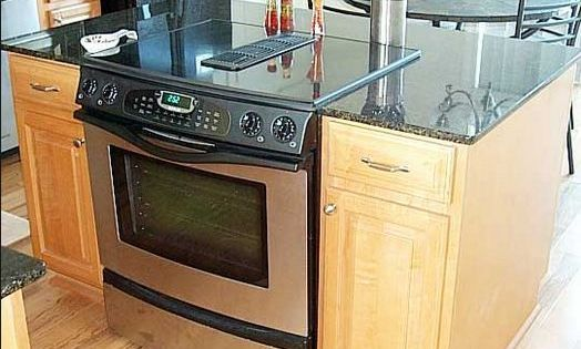 pinterest kitchen islands with slide in cooktop ovens ...