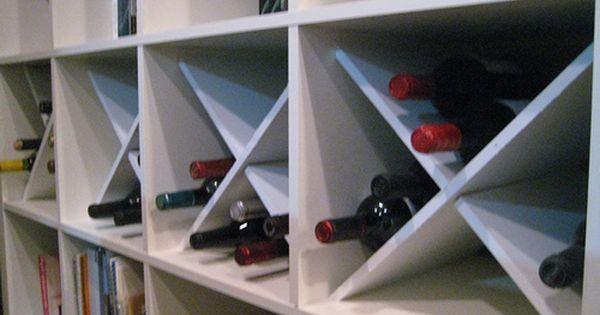 Expedit Wine Rack Fun Decor Kallax Ikea Ikea Diy