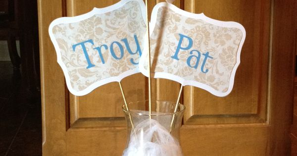 Parents 50th wedding anniversary table decor diy for Anniversary craft ideas for parents