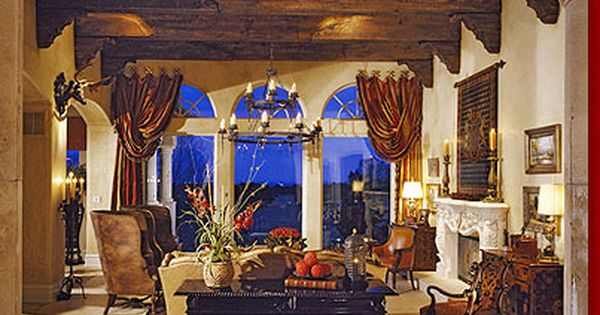 Large Foyer Window Treatment : Tuscan foyer home design find more ideas on