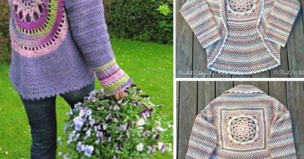 The Campfire Cardigan Crochet Jacket Free Pattern And