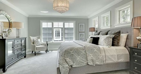 Traditional Master Bedroom With Crown Molding Pella