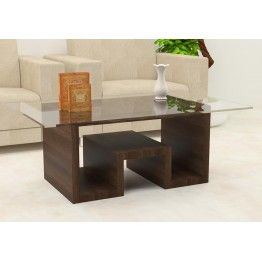 Tanzania Center Table With Laminate Finish Living Room Center