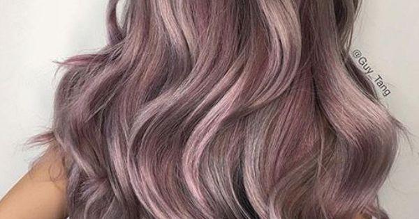 lilac grey hair guy tang � hair styles pinterest