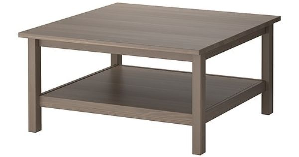 ikea hemnes table basse gris brun le bois massif pr sente un aspect naturel la tablette. Black Bedroom Furniture Sets. Home Design Ideas