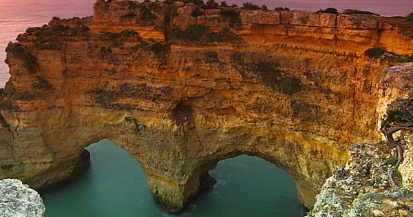 #Hearts in Nature Heart Sea Arch, Portugal