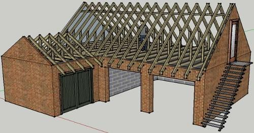 L shaped garage google search barns pinterest for Barn shaped garage