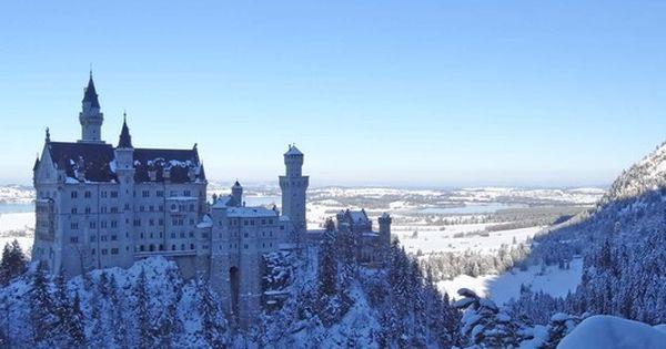 Konigsschlosser Bei Fussen Konigsschlosser Schloss Winterlandschaft